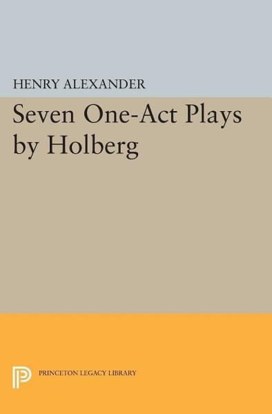 Download Seven One Act Plays by Holberg Book