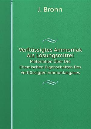 Verfl ssigtes Ammoniak Als L sungsmittel PDF