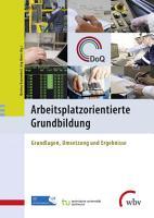 Arbeitsplatzorientierte Grundbildung PDF