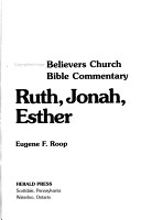 Ruth  Jonah  Esther PDF