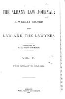 The Albany Law Journal PDF