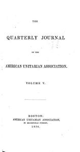 Quarterly Journal of the American Unitarian Association PDF