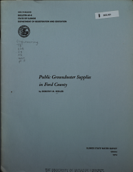 Public Groundwater Supplies in ... County: Ford county