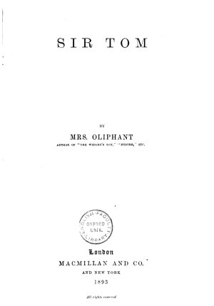 Sir Tom PDF