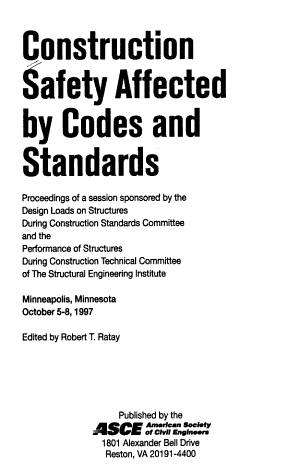 Construction Safety Affected by Codes and Standards PDF