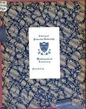 Journal de mathématiques élémentaires: Volume16