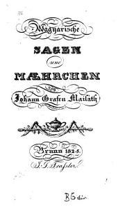 Magyarische Sagen und Maehrchen