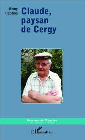 Claude, paysan de Cergy