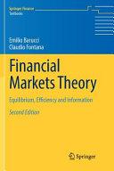 Financial Markets Theory PDF