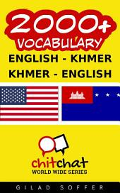 2000+ English - Khmer Khmer - English Vocabulary