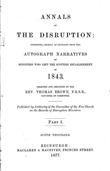 Annals of the Disruption PDF