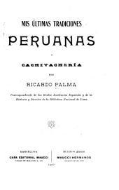 Mis últimas tradiciones peruanas, y Cachivachería