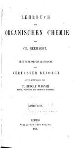 Lehrbuch der organischen chemie: Band 1