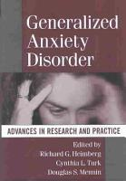Generalized Anxiety Disorder PDF