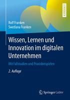 Wissen  Lernen und Innovation im digitalen Unternehmen PDF