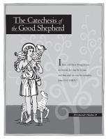 Journal of the Catechesis of the Good Shepherd 2014 PDF