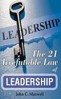 The 21 Irrefutable Law of Leadership PDF