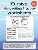 Cursive Handwriting Practice Worksheets PDF