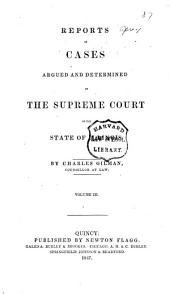 Reports of Cases at Law and in Chancery Argued and Determined in the Supreme Court of Illinois: Volume 8