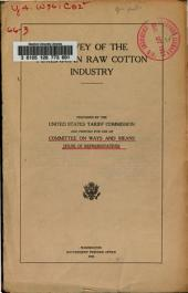 Survey of the American Raw Cotton Industry