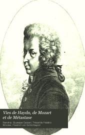 Vies de Haydn, de Mozart et de Métastase: Volume2