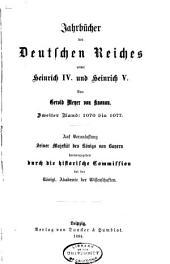 Jahrbucher der deutschen Geschichte: Band 24