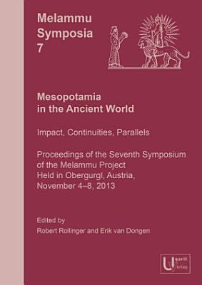 Mesopotamia in the Ancient World