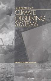 Adequacy of Climate Observing Systems