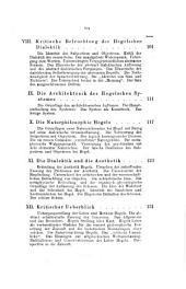 Das Geheimniss der Hegelschen Dialektik: beleuchtet vom concret-sinnlichen Standpunkte