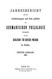 GERMANISCHEN PHILOLOGIE