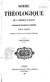 Somme théologique de S. Thomas