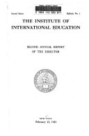 Download Annual Report   Institute of International Education Book