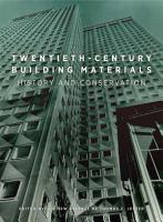 Twentieth Century Building Materials PDF