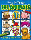 How to Draw 101 Animals  Easy Step By Step Drawing PDF