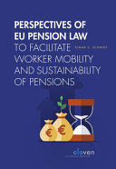 Perspectives of Eu Pension Law Hb