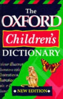 The Oxford Children's Dictionary
