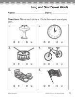 Second Grade Foundational Phonics Skills  Long and Short Vowel Words PDF