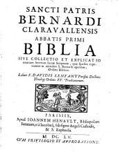 Biblia Bernardi Claravall