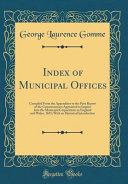 Index of Municipal Offices PDF