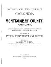 Biographical and Portrait Cyclopedia of Montgomery County  Pennsylvania PDF