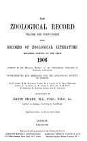 Download Zoological Record Book