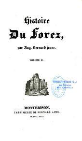Histoire du Forez: Volume2