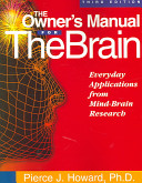The Owner's Manual for the Brain