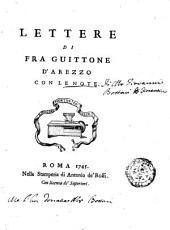 Lettere di fra Guittone d'Arezzo con le note