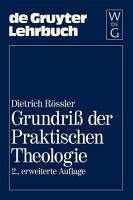 Grundri   der Praktischen Theologie PDF