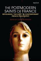 The Postmodern Saints of France PDF
