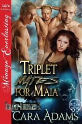 Triplet Mates for Maia [The Cat Burglars 2]