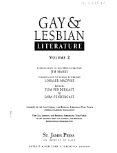 Gay   Lesbian Literature  Introduction to gay male literature PDF