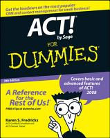 ACT  by Sage For Dummies PDF