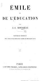 Emile ou l'éducation